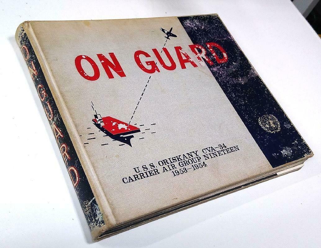 USS Oriskany Cruise Book 1953-54