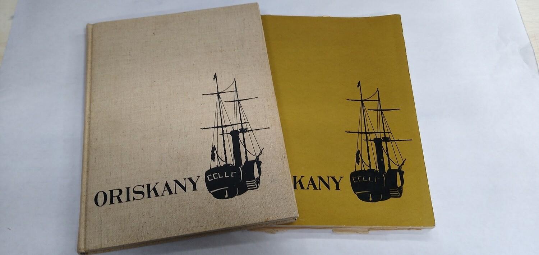 USS Oriskany Cruise Book 1960 - 2 book set