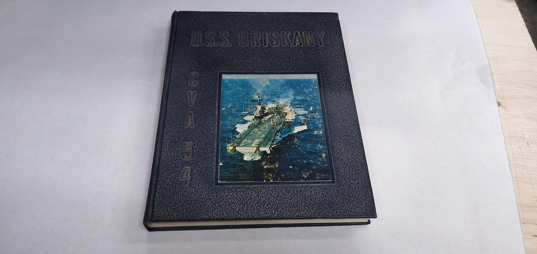 USS Oriskany Cruise Book 1964