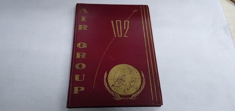 USS Oriskany Air Group 102 Cruise Book 1952 - RARE!