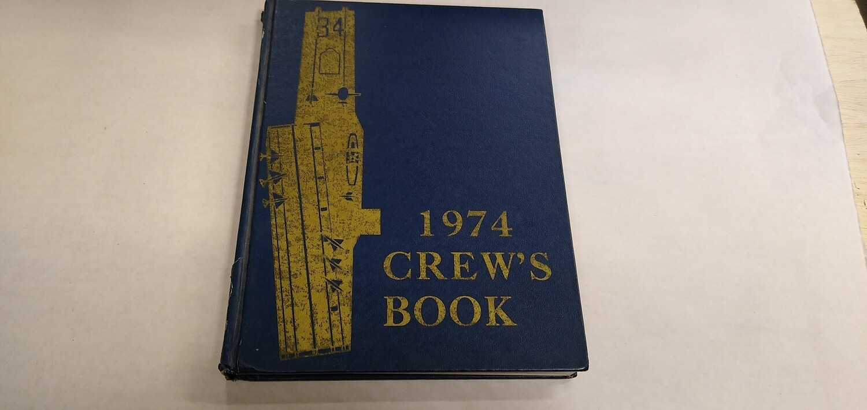 USS Oriskany Cruise Book 1974