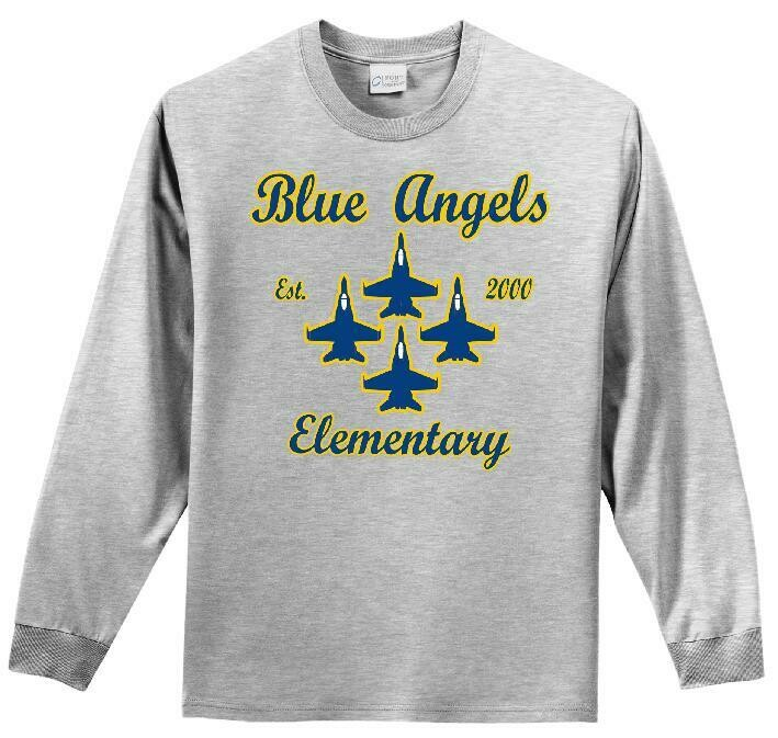 Blue Angel Elementary Long Sleeve Tee