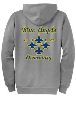 Blue Angel Elementary Zip Up Hoodie