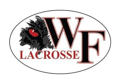 WF Lacrosse  Decal