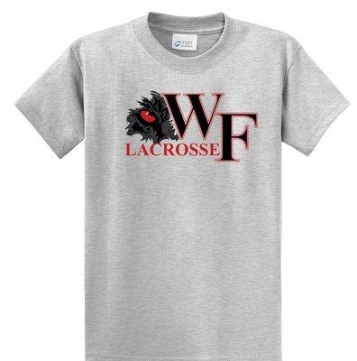 WF Lacrosse Short Sleeve Gray Tee