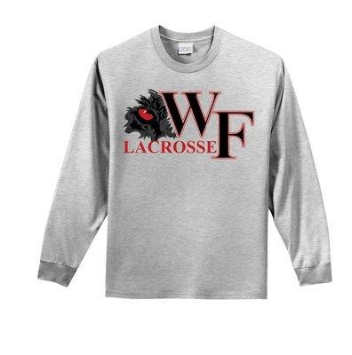 WF Lacrosse Long Sleeve Gray Tee
