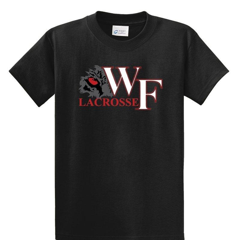 WF Lacrosse Short Sleeve Black Tee