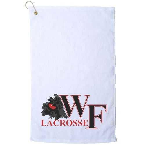 WF Lacrosse Micro Fiber Golf Towel