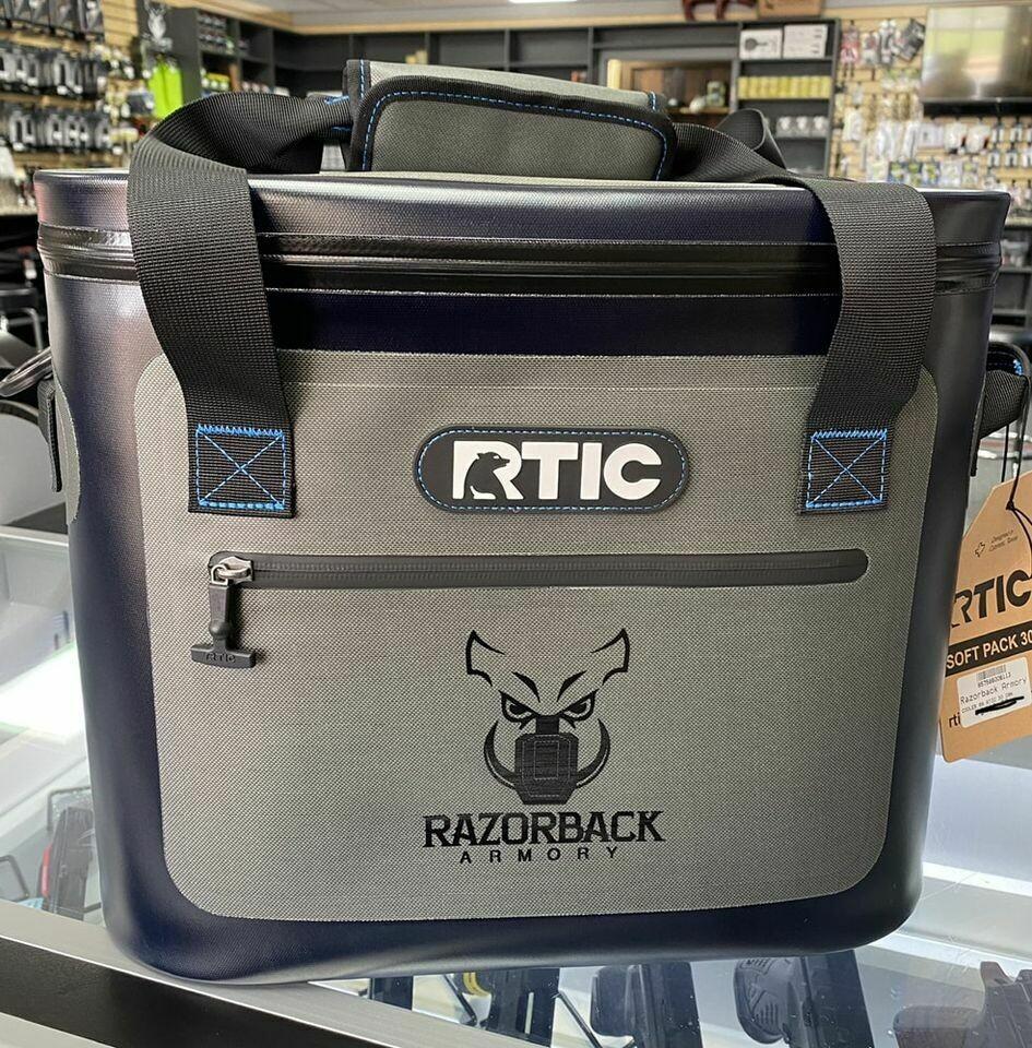 RTIC Custom Razorback Armory Soft Pack 30 Cooler