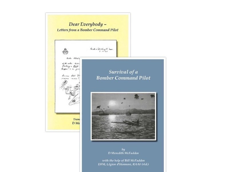 Special Offer: 'Dear Everybody - Letters from a Bomber Command Pilot' and 'Survival of a Bomber Command Pilot'