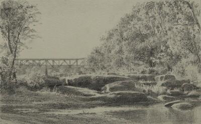 Early Autumn Near Nickel Bridge