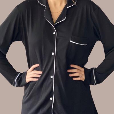Pijama Mila Black