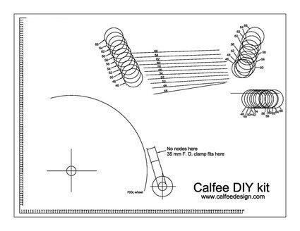Calfee DIY Kit Drawing