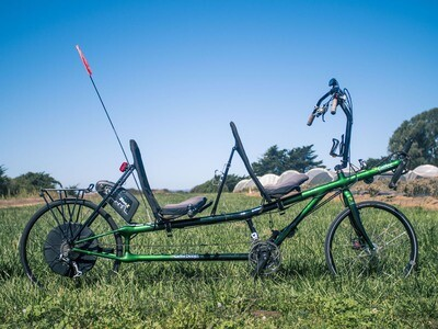 Refurbished Calfee Carbon Recumbent Tandem With Bion X E-Bike System