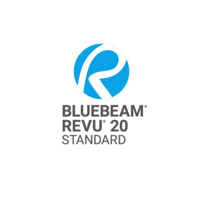 Bluebeam Revu Standard V20
