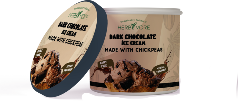 HerbYvore Dark Chocolate Icecream