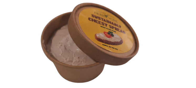 HerbyVore Sustainably Cream Cheese