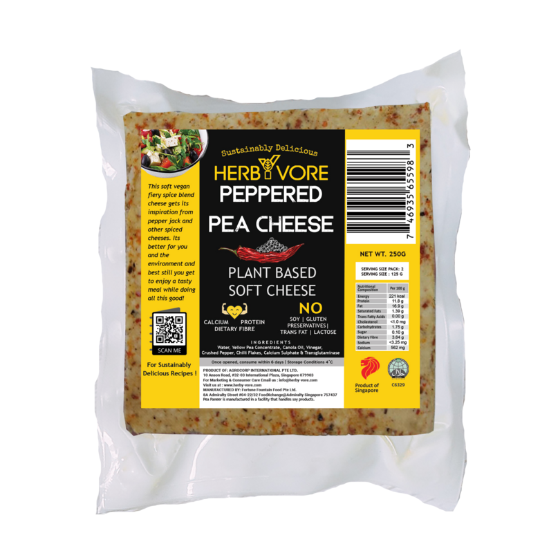 HerbYvore Peppered Pea Cheese (250 g)