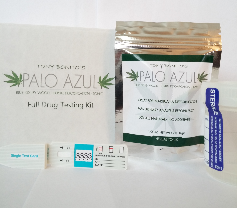 Tony Bonito's Palo Azul FULL Drug Testing KIT