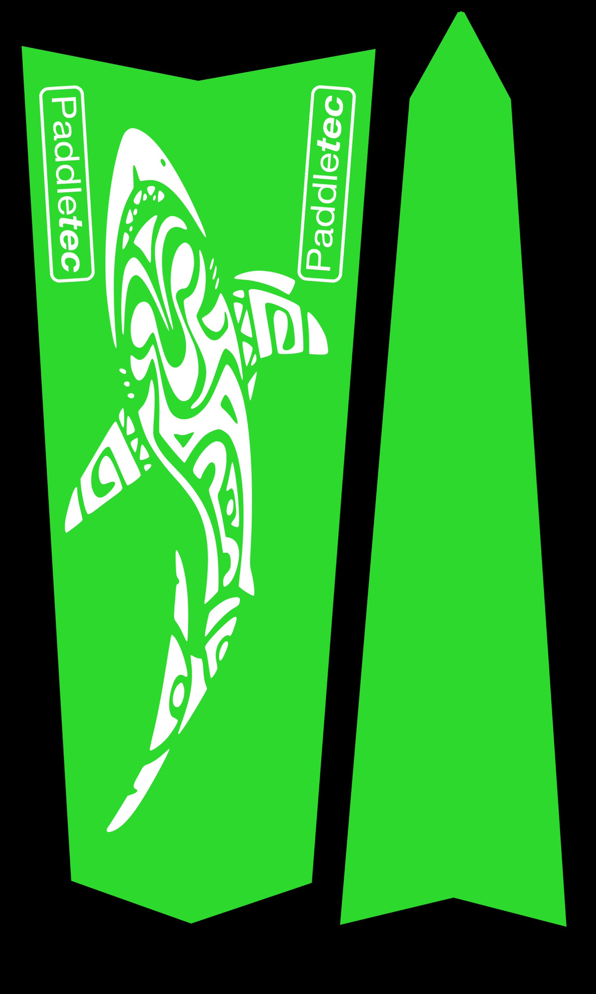 Neon Vinyl Surfski Stickers 00225