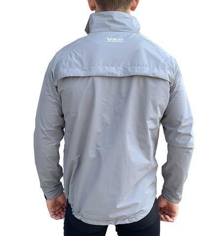 VAIKOBI Lightweight Jacket-Fluro Silver