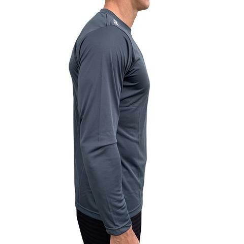 Vaikobi L/S Relaxed Fit UV Tee - Gun Metal Grey - Unisex