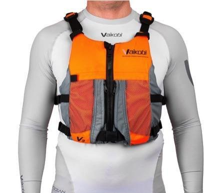 Vaikobi V3 OCEAN RACING PFD- FLURO ORANGE- GREY 00074