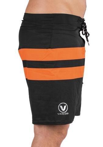 VAIKOBI PADDLE BOARD SHORTS- BLACK/ ORANGE