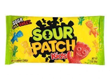 Gomitas ácidas Sour Patch Kids