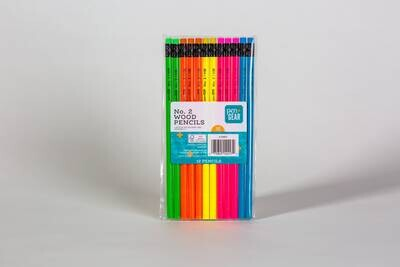Lapices fluorecentes - paquete de 12 unidades