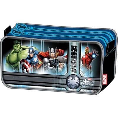 Estuche Doble Avengers