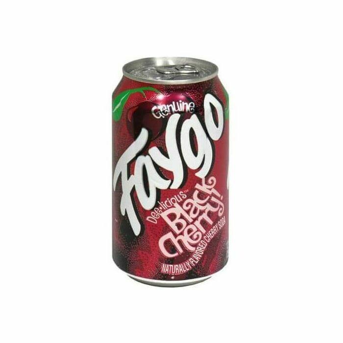 Faygo Black Cherry (355ml)