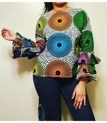 Dandelions Blouse & Skirt 2pc Skirt Set