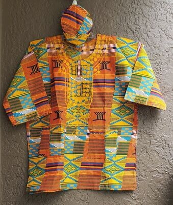 Africana 3pc Embroidered Set