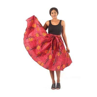 Sun Roots Mid-Length Skirt