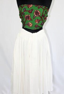 Snow Mid-Length Skirt