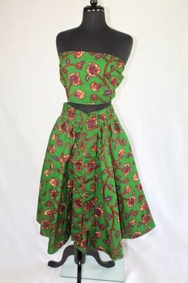Forest Mid-Length Skirt