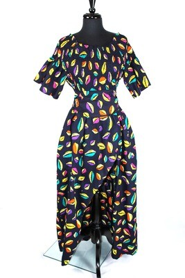 """""""Color Cowrie"""" Fit & Flare Dress"""