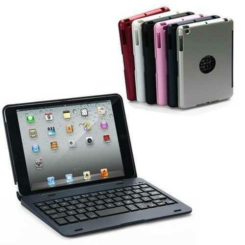 2 In 1 bluetooth Keyboard Foldable Kickstand Case For iPad Mini 1 2 3