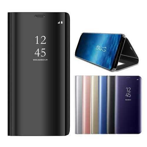 Bakeey Smart Sleep Mirror Window View Bracket Phone Case For Samsung Galaxy S9