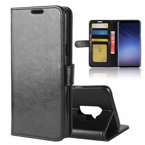 Bakeey Bracket Flip Card Slots PU Leather Case for Samsung Galaxy S9 Plus