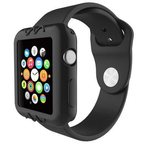 Universal Silicone Scratch Resistant Protective Watch Case For Apple Watch Series 1/2/3 38mm/42mm