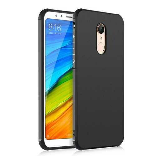 "Bakeey?""? Matte Shockproof Silicone Back Cover Protective Case for Xiaomi Redmi 5 Non-original"