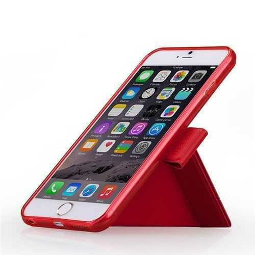 MOMAX Leather Dual-angle Folding Stand Case For iPhone 6 6s