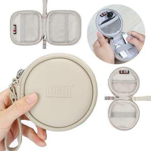 BUBM Mini Portable Large Capacity Waterproof Earphone Digital Accesoory Storage Bag