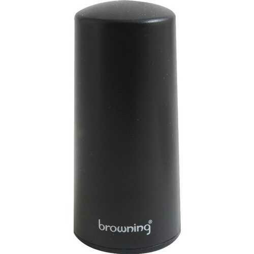 """Browning BR2445 450MHZ-465MHz Pretuned Low-Profile UHF Band NMO Antenna, 3 1/4"""" Tall"""