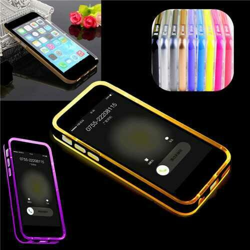 """LED Flashlight Up Remind Incoming Call LED Blink Cover Case For iPhone 6 6s Plus 5.5"""""""