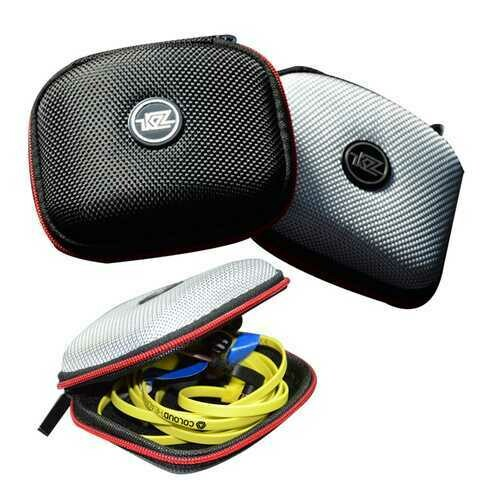 KZ Portable Earphone Bag EVA Zipper Protective Storage Bag for Earphone Cable Charger Momery Card