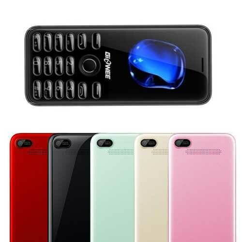 GIOWEE TT21 2.4'' 1000mAh MP3 bluetooth Big BOX Long Standby Ultra Thin Mini Card Feature Phone