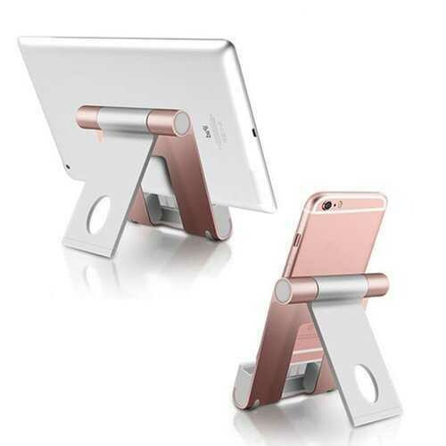 Aluminum Alloy Phone Charging Holder Tablet Stand For Smart Phone/Tablet PC/iPhone/iPad